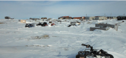 M'Clintock Channel Polar Research Cabins