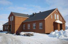 """CNR Arctic Station """"Dirigibile Italia"""""""