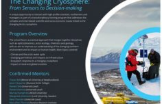 Call for applications for Sentinel North International Arctic Field School