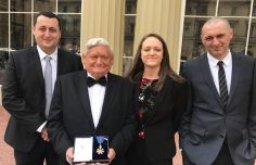 INTERACT Scientific Coordinator received CMG at Buckingham Palace