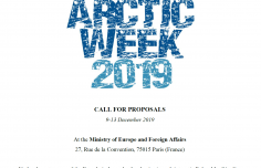 Call for proposals- Arctic Week 2019