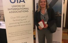 INTERACT at the Union of International Associations meeting in Brussels
