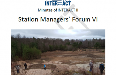 Minutes from Station Managers' Forum VI available