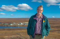 INTERACTer Brian Barnes receives University of Alaska Foundation Bullock Prize