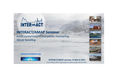 Joint INTERACT AMAP workshop on contaminant monitoring and waste handling at INTERACT Stations