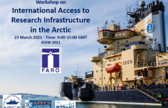 Workshop on access to research infrastructure in the Arctic at the ASSW