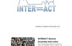 INTERACT bi-annual newsletter fresh from the press